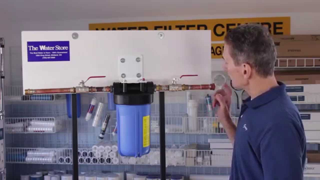 Whole House Sediment Water Filter How To Change A Whole House Sediment Water Filter