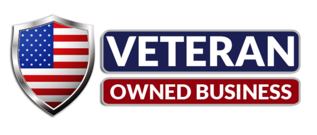 veteran owned business logo same as krueger e